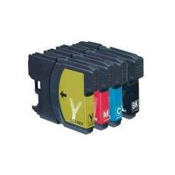 4 Pack Compatible Brother LC-39 Ink Cartridge Set (1BK,1C,1M.1Y)