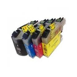 4 Pack Compatible Brother LC-239XL LC-235XL Ink Cartridge Set (1BK,1C,1M.1Y)