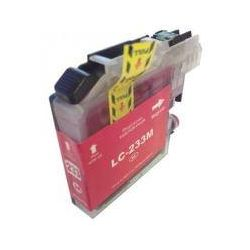 Compatible Brother LC-233 Magenta Ink Cartridge