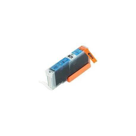 Compatible Canon CLI-671XLC Cyan Ink Cartridge