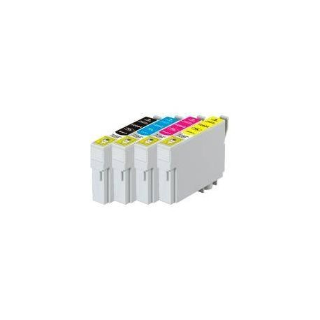4 Pack Compatible Epson 200XL Ink Cartridge Set (1B,1C,1M,1Y) High Yield