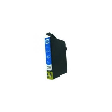 Compatible Epson 252XL Cyan Ink Cartridge High Yield