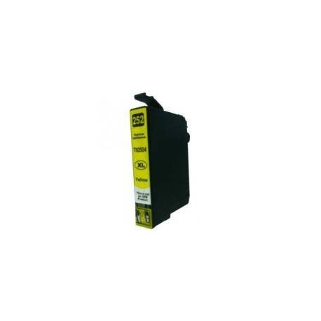 Compatible Epson 252XL Yellow Ink Cartridge High Yield