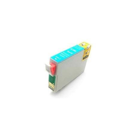 Compatible Epson T0872 Cyan Ink Cartridge