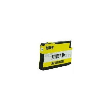 HP 711XL Compatible Yellow Inkjet Cartridge CZ132A