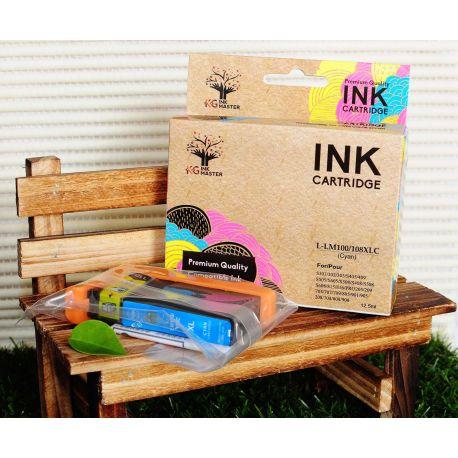 Compatible Lexmark 100XL Cyan Ink Cartridge High Yield 14N1069A