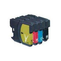 4 Pack Compatible Brother LC-133 Ink Cartridges [1BK,1C,1M,1Y]