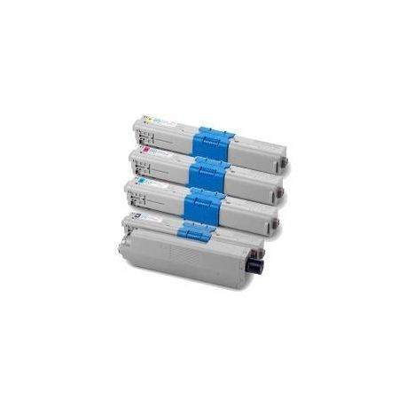 4 Pack Compatible OKI C310 C330 C331 MC361 MC362 Toner Cartridge Set