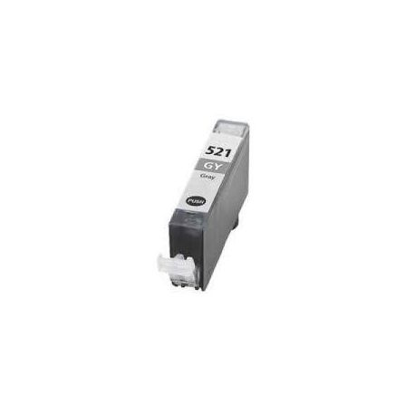 Canon CLI-521GY Compatible Grey Inkjet (with Chip)