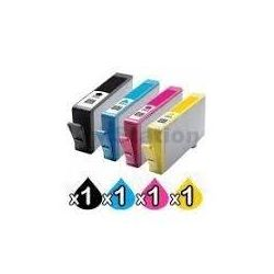4 Pack HP 564XL Compatible Inkjet Cartridges CN684WA+CB323WA-CB325WA [1BK,1C,1M,1Y]