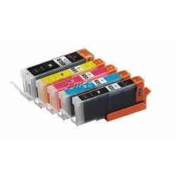 5 Pack Canon PGI-650XL CLI-651XL Compatible High Yield Inkjet Cartridges