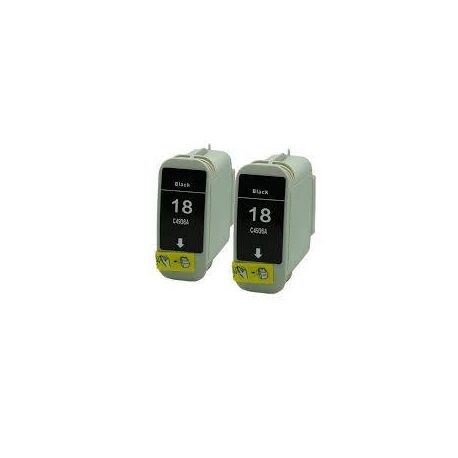 HP 18 Compatible Black Inkjet Cartridge C4936A