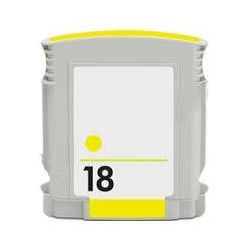 HP 18 Compatible Yellow Inkjet Cartridge C4939A