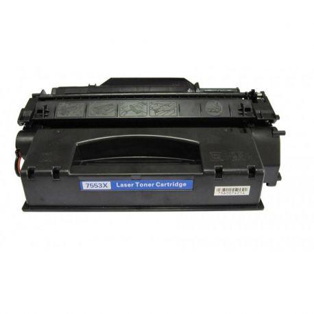 HP Q7553X (53X) Compatible Black Toner Cartridge - 7,000 Pages