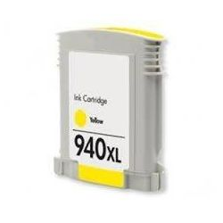 HP 940XL Compatible Yellow High Yield Inkjet Cartridge C4909AA - 1,400 Pages