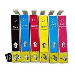 6 Pack Compatible Epson 81N series Ink Cartridge [1BK,1C,1M,1Y,1LC,1LM]