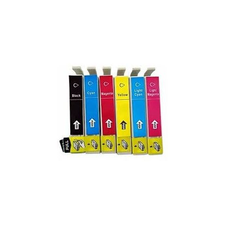 6 Pack Compatible Epson 81N series Ink Cartridge