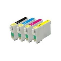 4 Pack Epson Compatible 73N Series Value Pack [T0731- T0734]