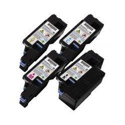 4 Pack Compatible Xerox Docuprint CM115 CP115 CP116 CM225 CP225 High Yield Toner Cartridges (CT202264-CT202267) - [1BK,1C,1M,1Y]