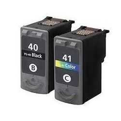 2 pack Canon PG-40 CL-41 Compatible Value Pack [1BK,1C]
