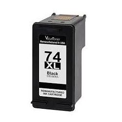 HP 74XL Compatible Black High Yield Inkjet Cartridge CB336WA - 750 Pages