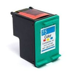 HP 75XL Compatible Colour High Yield Inkjet Cartridge CB338WA - 520 Pages