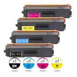 4-Pack Compatible Brother TN-348 Toner Combo [1BK,1C,1M,1Y]