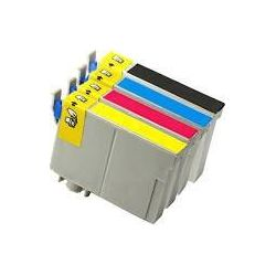 4-Pack Compatible Epson T1331-T1334 (133) Inkjet Cartridges [1BK,1C,1M,1Y]