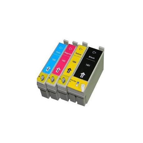 4 Pack Epson 140 (T1401-T1404)