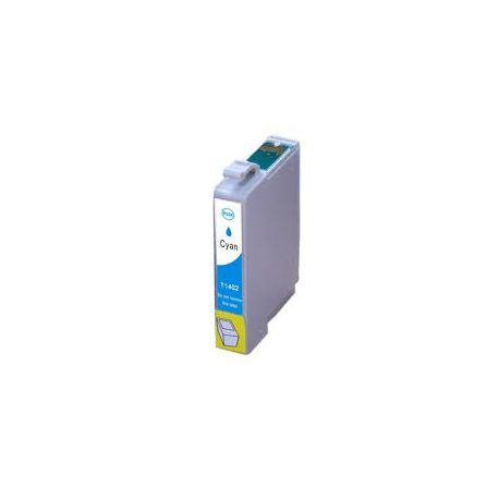 Epson 140 (T1402) Compatible Cyan High Yield Inkjet Cartridge (C13T140292) - 755 pages