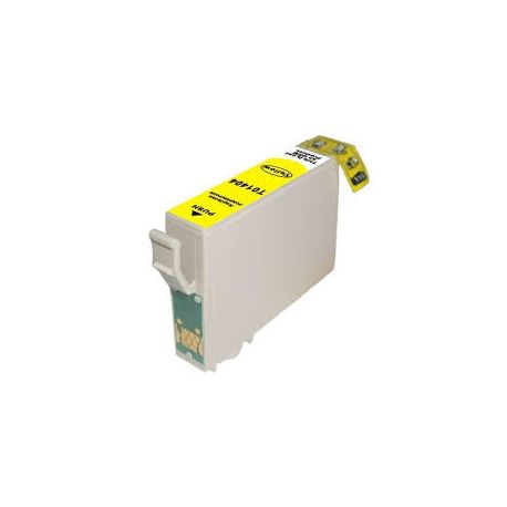 Epson 140 (T1404) Compatible Yellow High Yield Inkjet Cartridge (C13T140492) - 755 pages