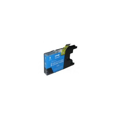 Compatible Brother LC40 /LC73/ LC77 Cyan Ink Cartridge
