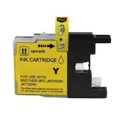 Compatible Brother LC40 /LC73/ LC77 Yellow Ink Cartridge
