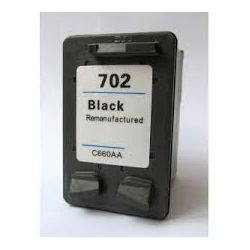 Compatible HP 702 Black Ink Cartridge
