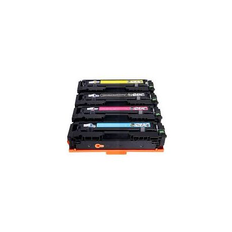 4 Pack HP CF400X-CF403X (201X) Compatible Toner Cartridges [1BK,1C,1M,1Y] -1500 Page