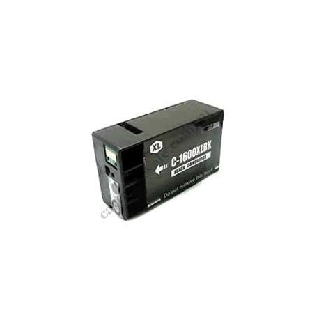 Canon PGI-1600XLBK Compatible Black High Yield Ink Cartridge - 1,200 pages