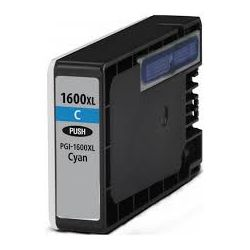 Canon PGI-1600XLC Compatible Cyan High Yield Ink Cartridge - 900 pages