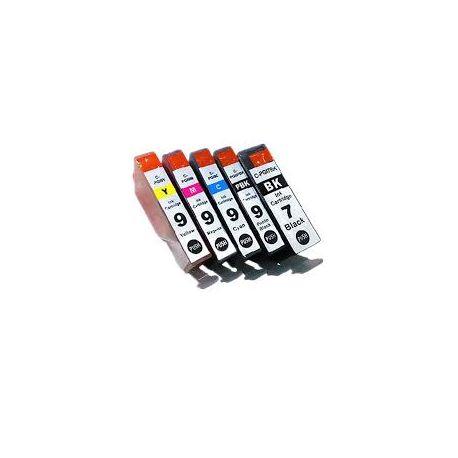 5-Pack Canon PIXMA iX7000,MX7600 Compatible InkJet Cartridge