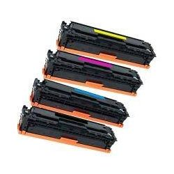 Pack HP 410A (CF410A-CF413A) Compatible Toner Cartridges [1BK,1C,1M,1Y]