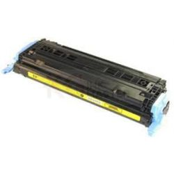 HP Q6002A (124A) Compatible Yellow Toner Cartridge - 2,000 Pages