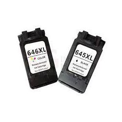 2-Pack Canon PG-645XL, CL-646XL [Black + Colour] compatible Ink Combo